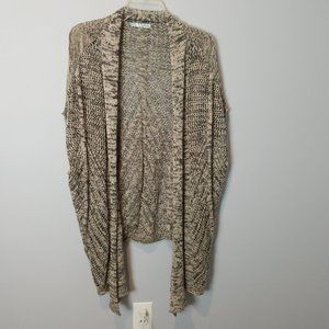 Maurices Open Front / Open Knit Cardigan Sweater S